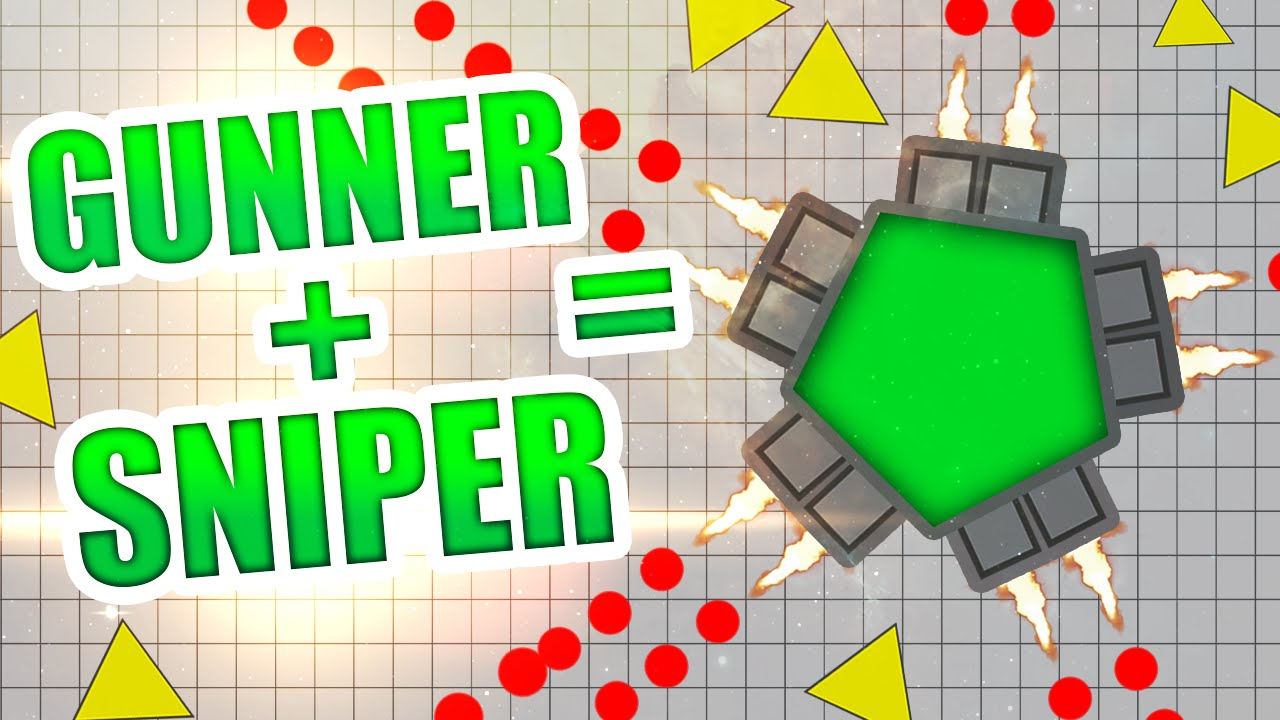 diep io gunner vs sniper legendary class build best diepio