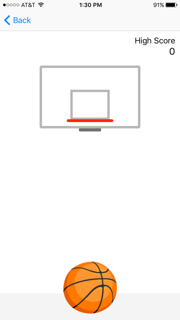 shoot hoops to score points