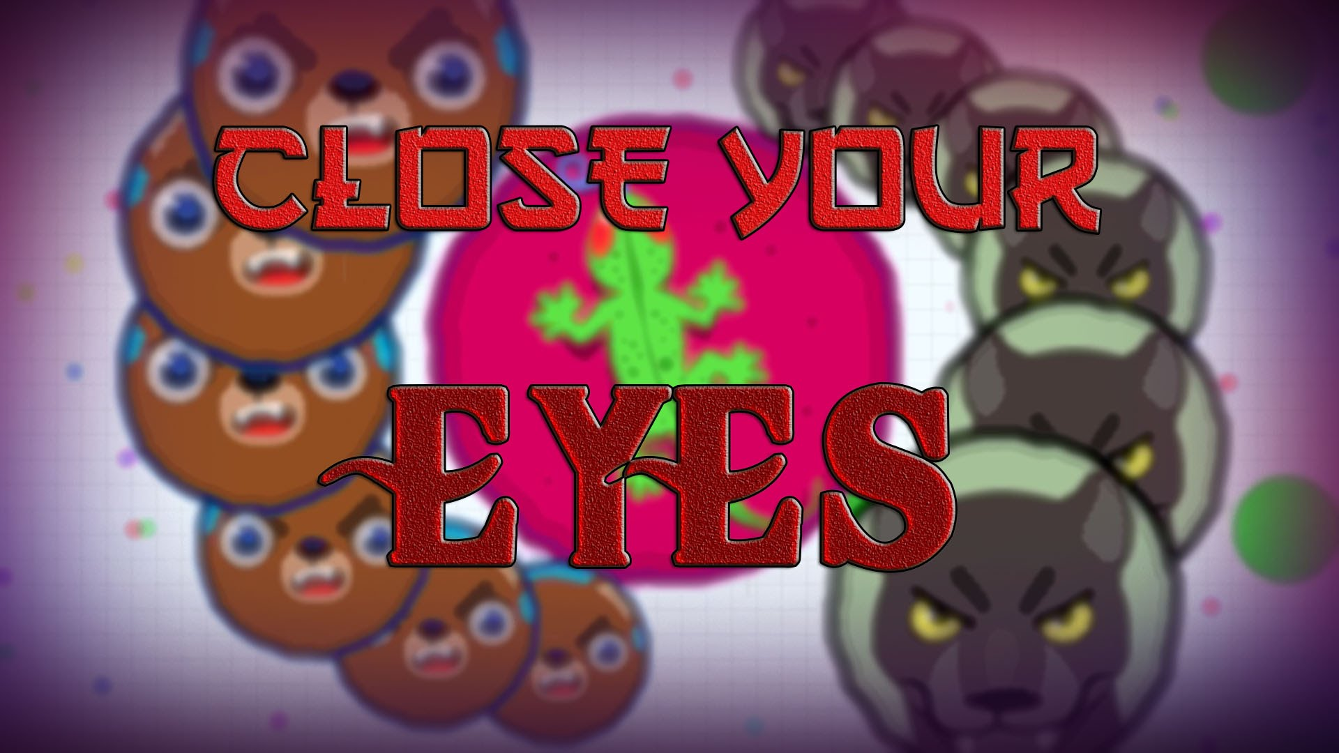 Agario Gameplay Close Your Eyes Qz
