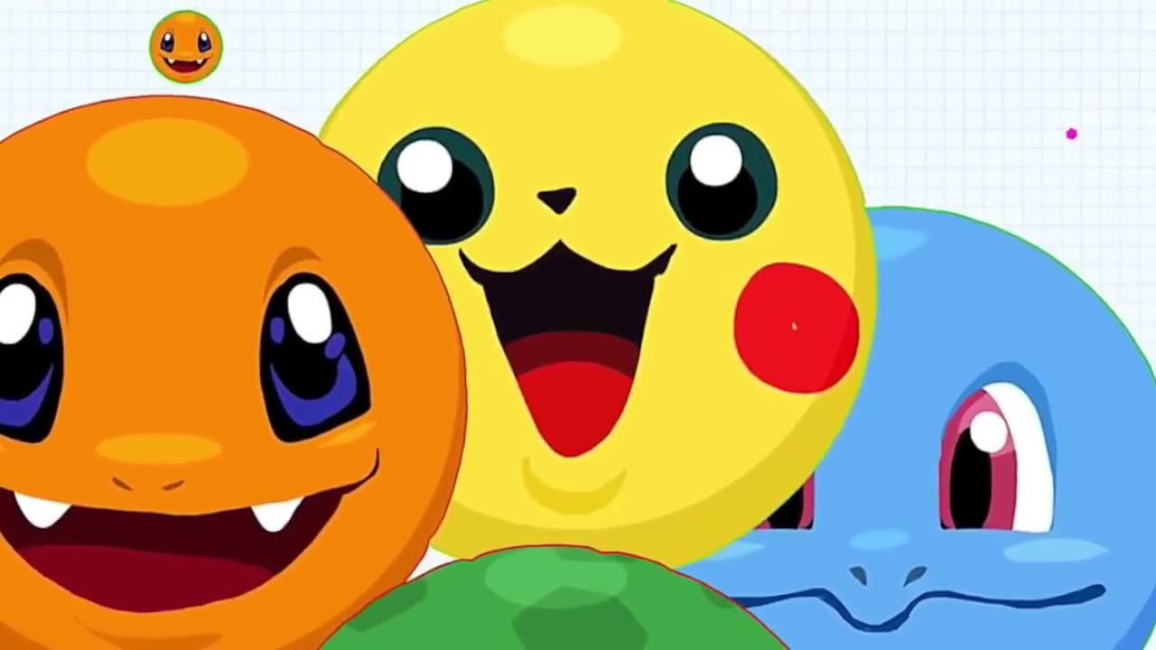 Agar Io New Pokemon Skin 4x Linesplit Pika Char Bulba Squi
