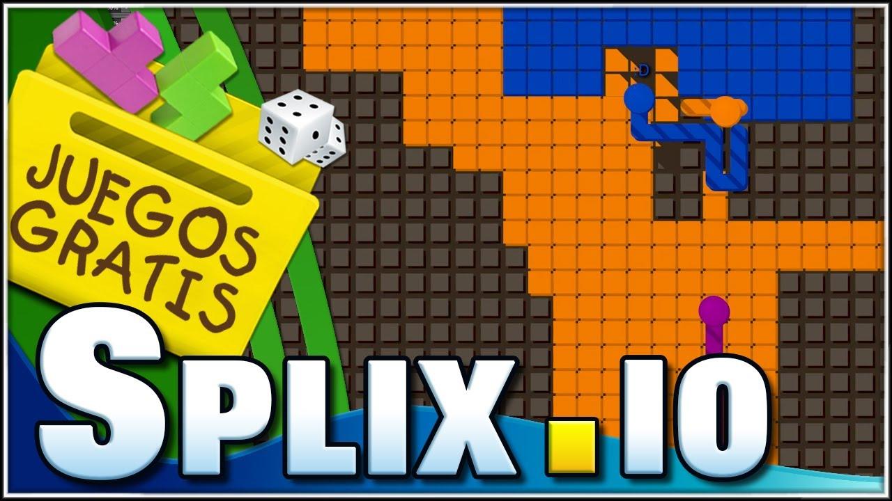 Splix.io | la otra version de agar.io y slither.io