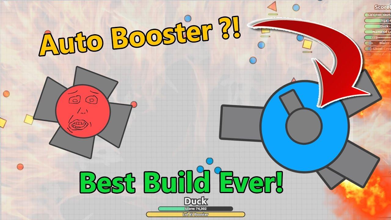 Best Rammer Build Diep Io