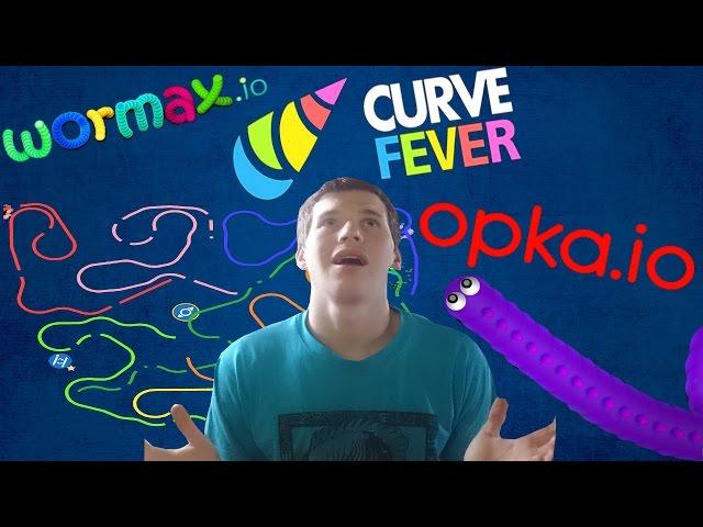 Probando Juegos Io Opka Io Wormax Io Curve Fever