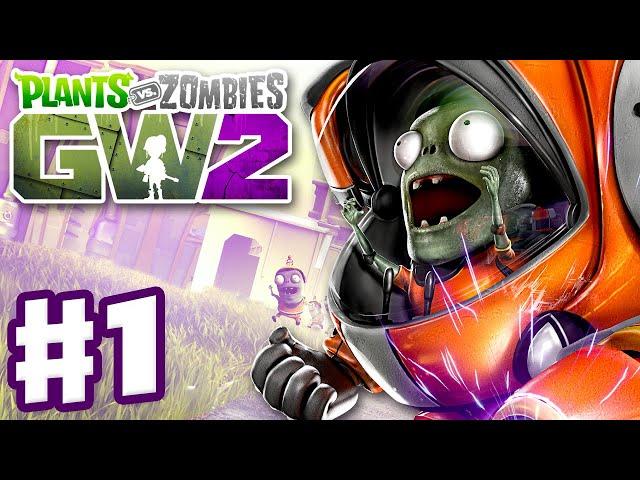 Plants Vs Zombies Garden Warfare 2 Gameplay Part 1