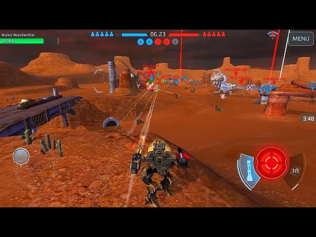 war robots test server